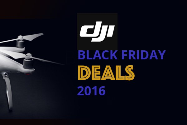 DJI Official Black Friday Deals - Save Huge On Drones