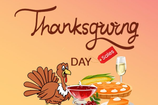 Thanksgiving Day Deals and Coupon Codes 2019