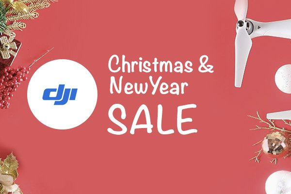 DJI Christmas and New Year - Save Upto 50% OFF On Various Drone Models and Accessories
