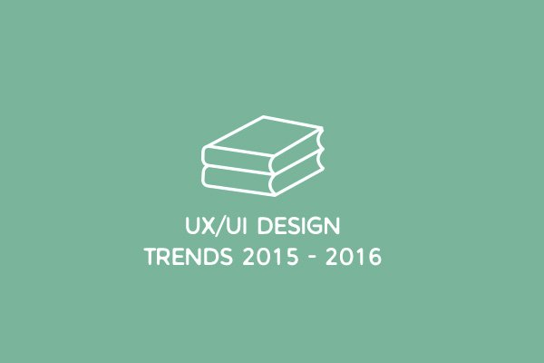 Best Free E-Books On UX/UI Design Trends 2015 - 2016
