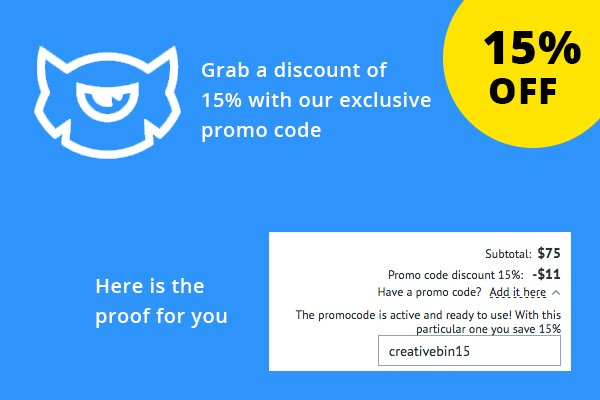 Creative recreation discount coupon code