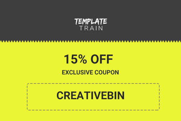 Template Train Coupon    Off Exclusive Promo Code