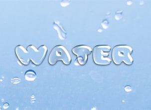 Water Text Effect