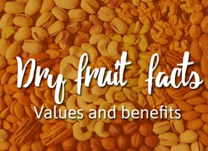 Dry Fruits Composition - Infographic