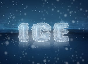 Ice Psd Text Effect